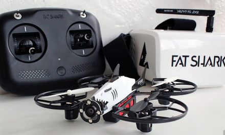 Fat Shark's 101 starter set is a gateway to drone racing