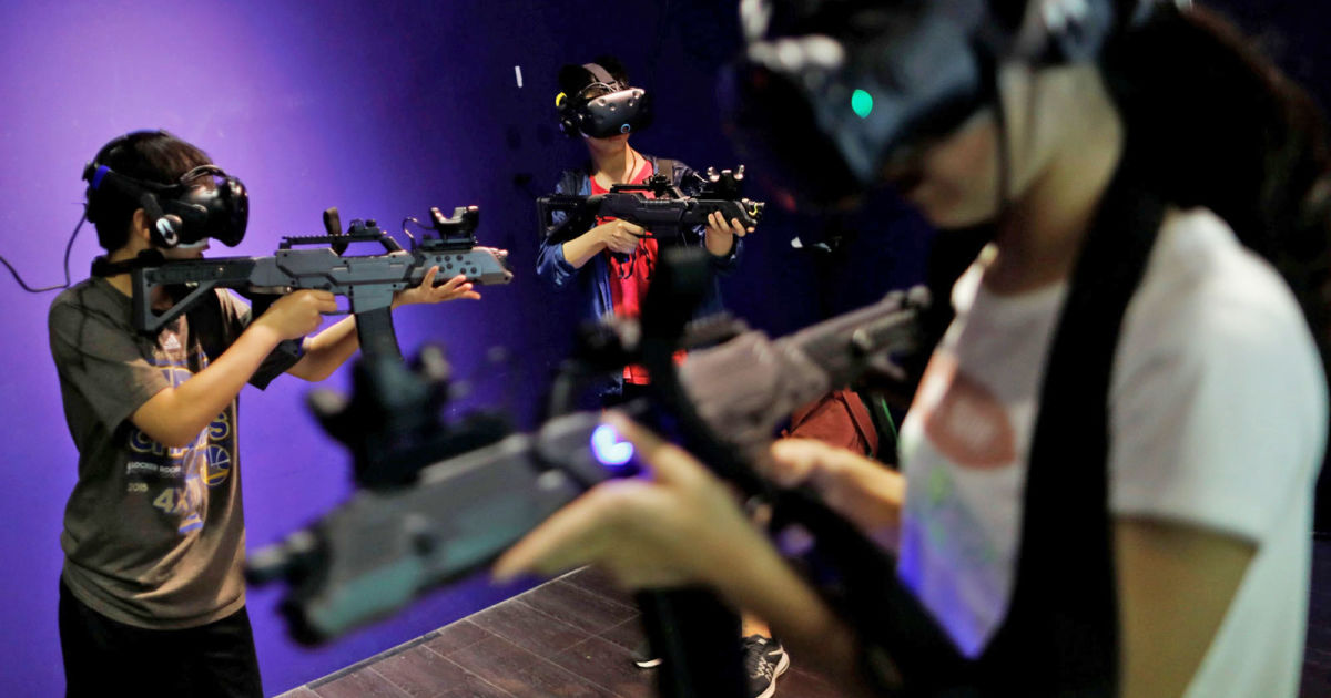 This wireless VR tech could make it easier to play with others