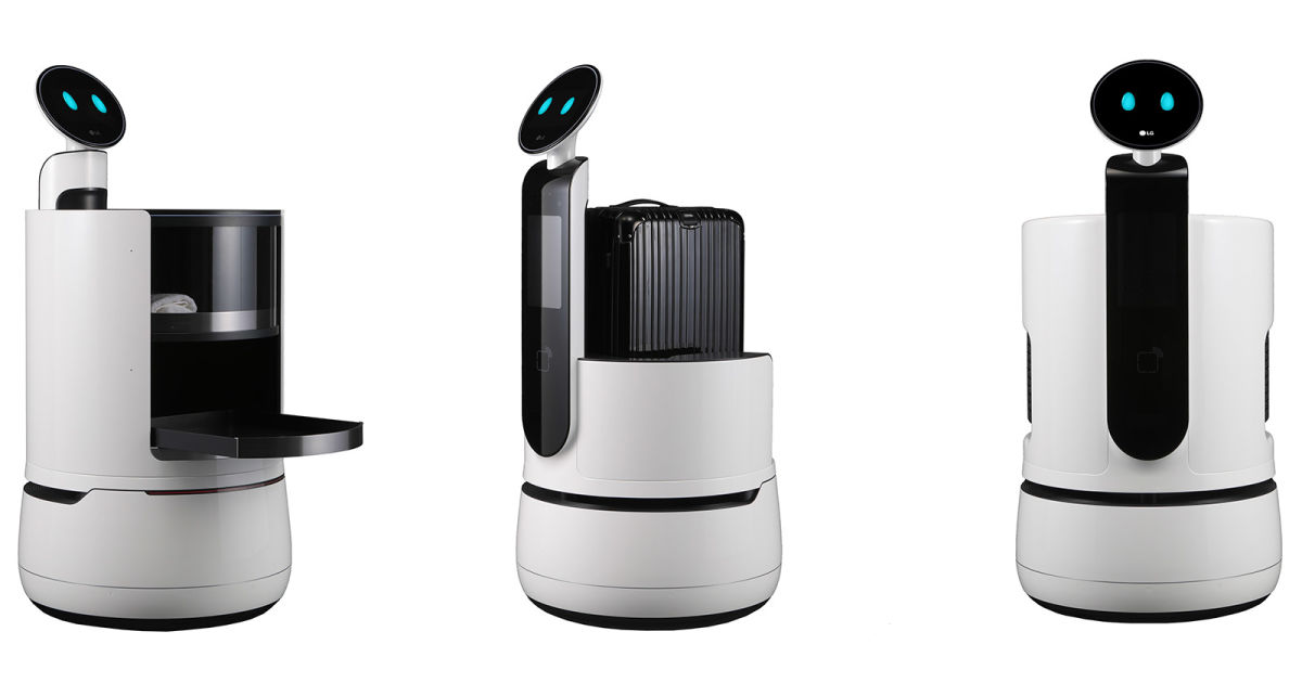 LG's new CLOi robots want to serve at hotels and supermarkets