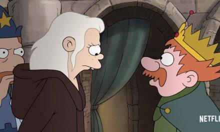 Netflix offers a brief look at Matt Groening's 'Disenchanted'