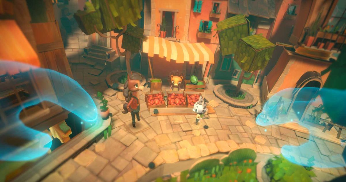 PSVR's 'Ghost Giant' turns the world into your sandbox