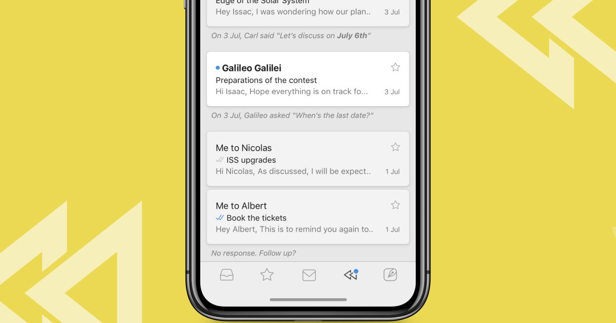 Newton email app surfaces messages it thinks you should reply to