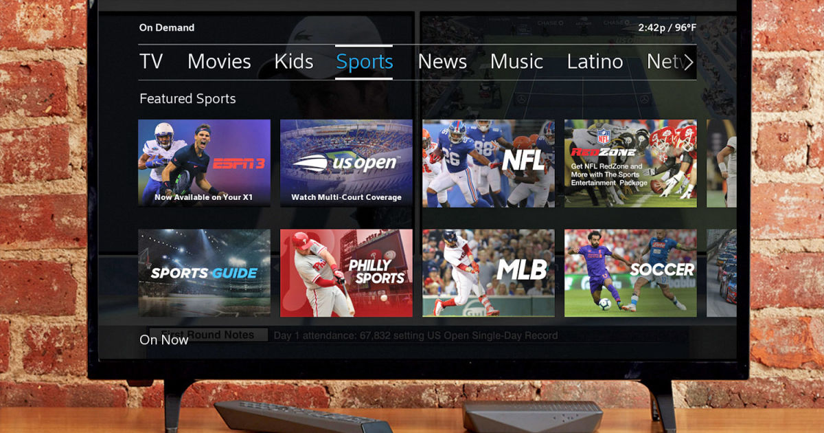 Comcast adds three more ESPN networks to Xfinity X1